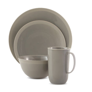Vera Wang Wedgwood Vera Gradients Clay 4-Piece Place Setting