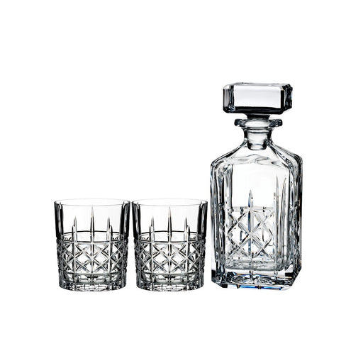 Marquis by Waterford Brady Double Old Fashioned in Pair with Decanter
