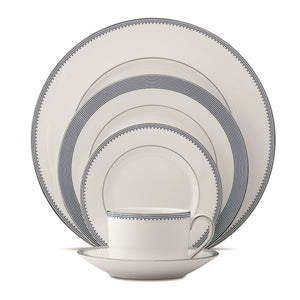 Vera Wang Wedgwood Grosgra in Indigo 5-Piece Place Setting