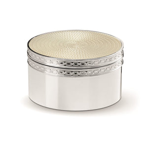 Vera Wang Wedgwood With Love Nouveau Pearl Covered Box
