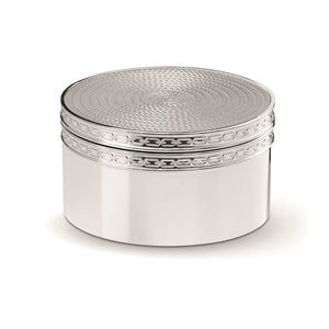 Vera Wang Wedgwood With Love Nouveau Silver Covered Box