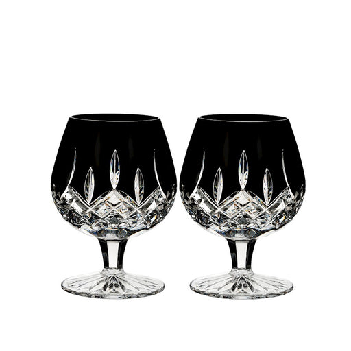 Waterford Lismore Black Brandy in Pair