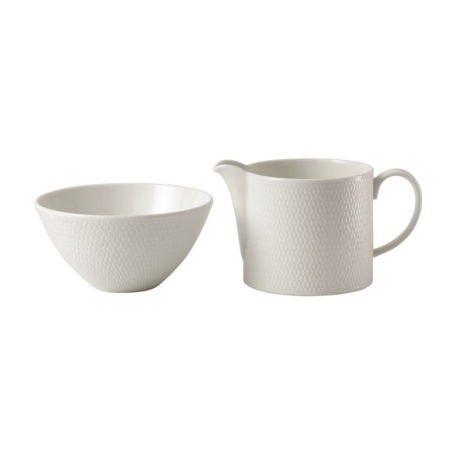 Wedgwood Gio Cream and Sugar Set