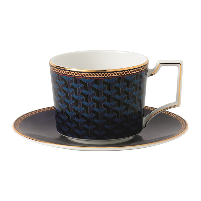 Wedgwood Byzance Teacup and Saucer Set