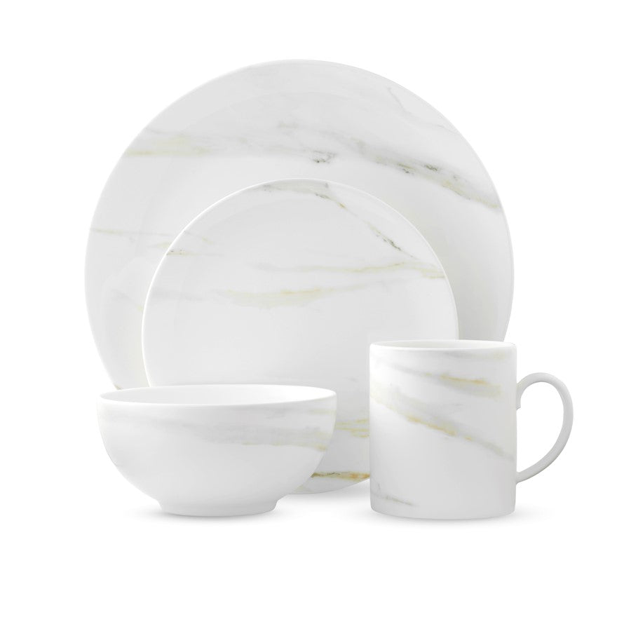 Vera Wang Wedgwood Vera Venato Imperial 4-Piece Place Setting