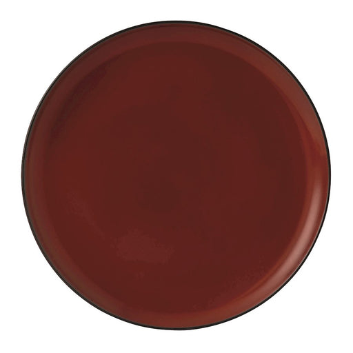Gordon Ramsay by Royal Doulton Bread Street Dark Red Dinner Plate