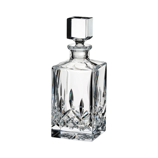 Waterford Lismore Black Clear Square Decanter