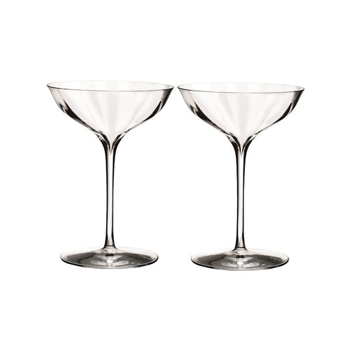 Waterford Crystal Elegance Optic Belle Coupe Set/2