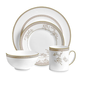 Vera Wang Wedgwood Lace Gold 4-Piece Setting