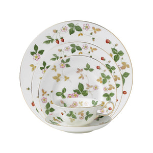 Wedgwood Wild Strawberry 5-Piece Place Setting