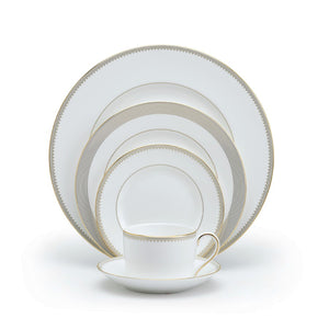 Vera Wang Wedgwood Golden Grosgra in 5-Piece Place Setting