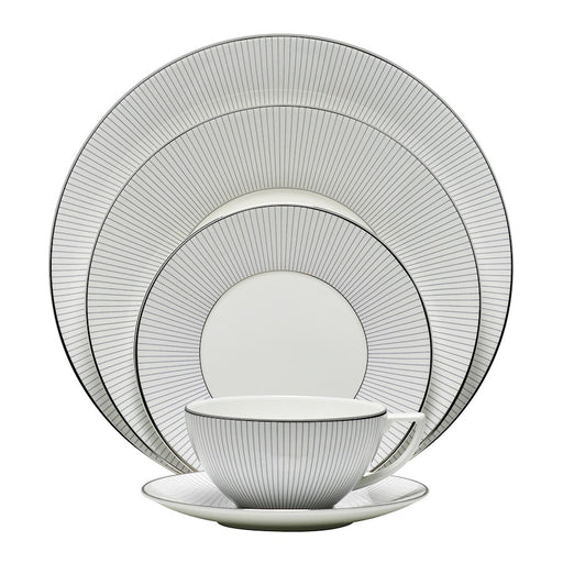 Jasper Conran at Wedgwood Blue P in Stripe 5-Piece Place Setting