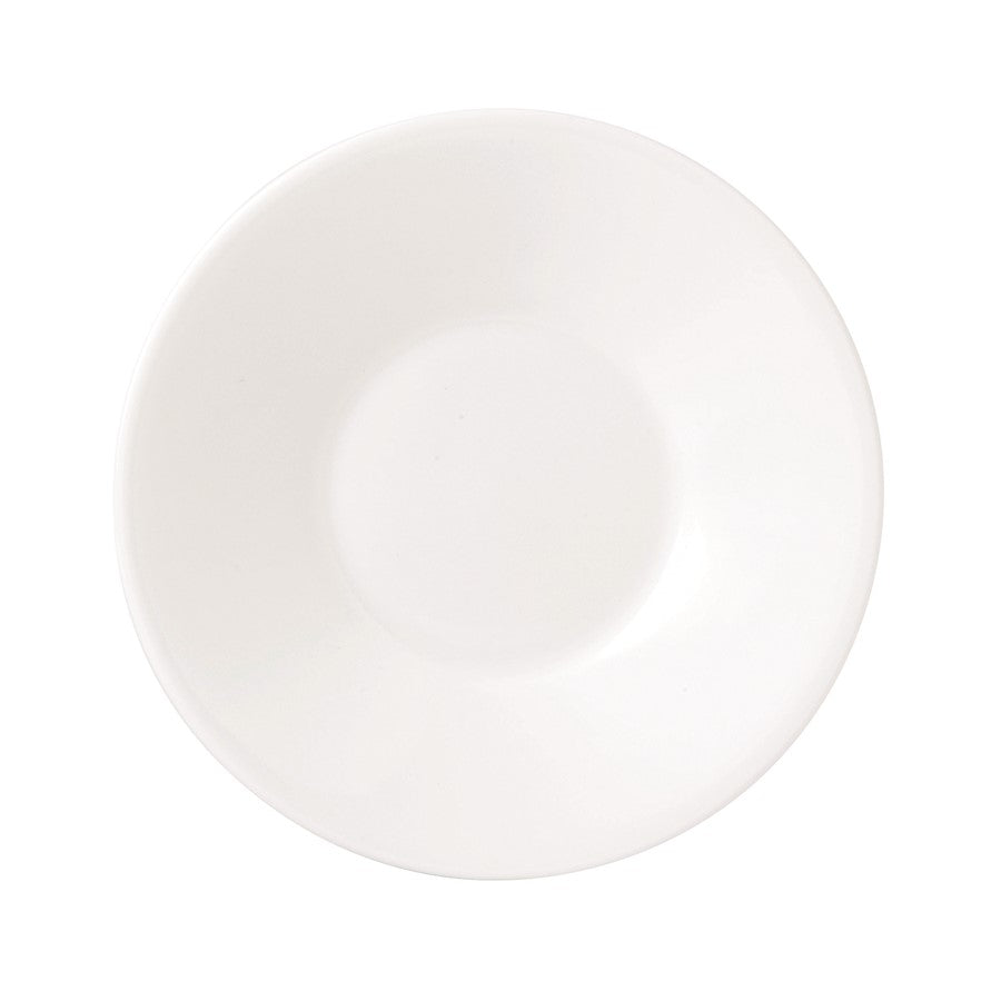 Jasper Conran at Wedgwood White Bone China Espresso Saucer