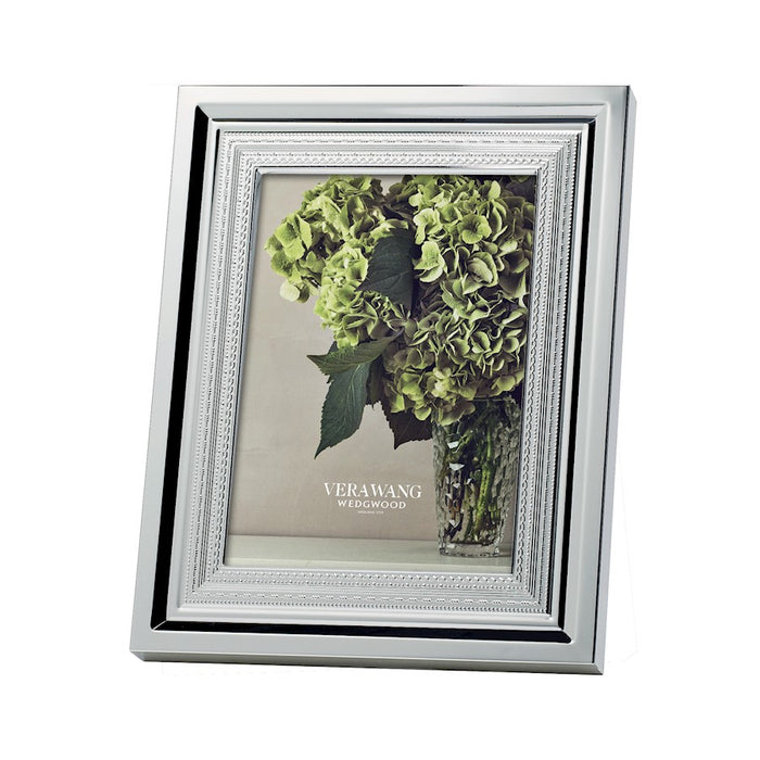 Vera Wang Wedgwood With Love Silver 4x6 Picture Frame