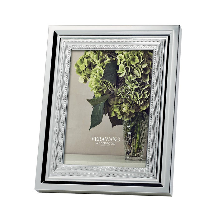 Vera Wang Wedgwood With Love Silver 5x7 Picture Frame