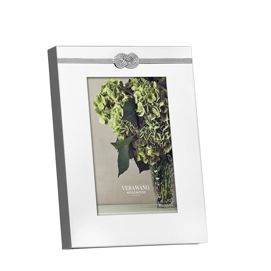 Vera Wang Wedgwood Vera Infinity 4x6 Picture Frame