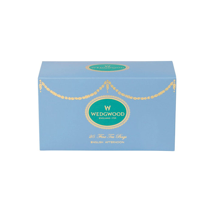 Wedgwood Everyday Luxury English Afternoon Teabag Box/25