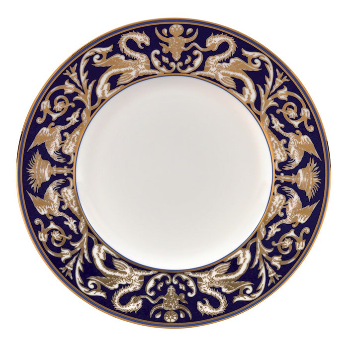 Wedgwood Renaissance Gold Scroll Accent Salad Plate