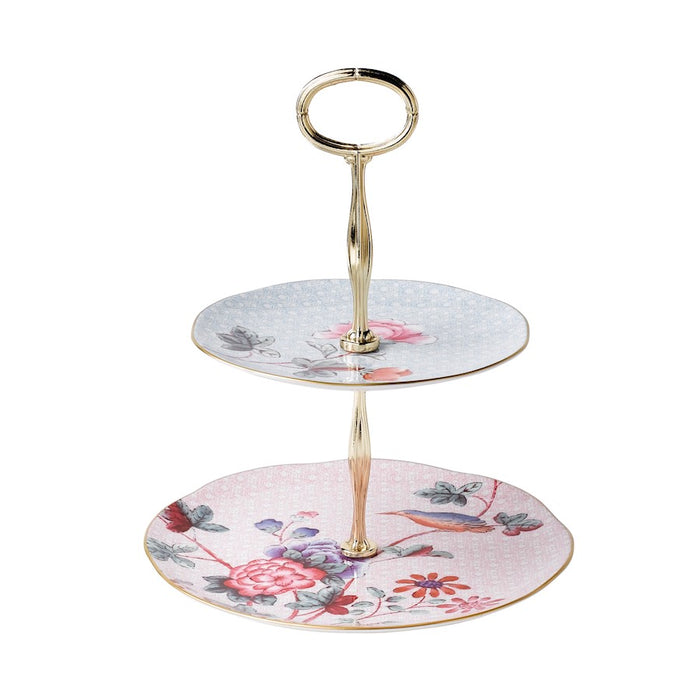 Wedgwood Cuckoo 2-Tier Cake Stand