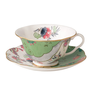Wedgwood Butterfly Bloom Butterfly Posy Teacup and Saucer