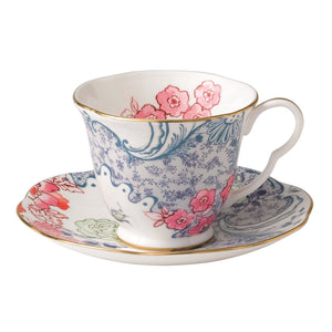 Wedgwood Butterfly Bloom Spring Blossom Teacup and Saucer