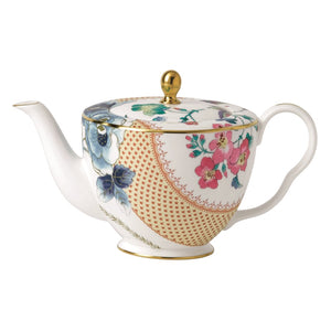Wedgwood Butterfly Bloom 33.8oz Teapot