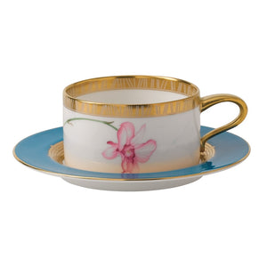Wedgwood Orchid Tea Saucer Low