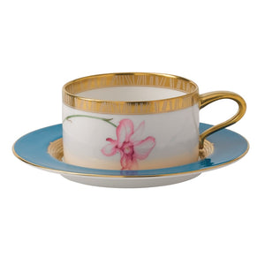 Wedgwood Orchid Teacup Low