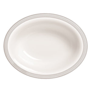 Vera Wang Wedgwood Vera Moderne Oval Open Vegetable Bowl