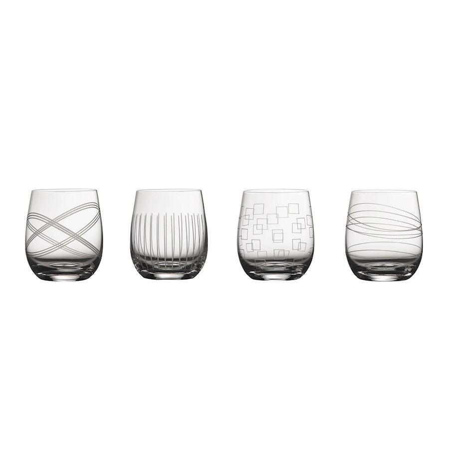 Royal Doulton Party Collection Double Old Fashion in Set of 4