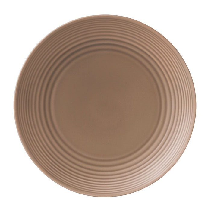 Gordon Ramsay by Royal Doulton Maze Taupe Dinner Plate