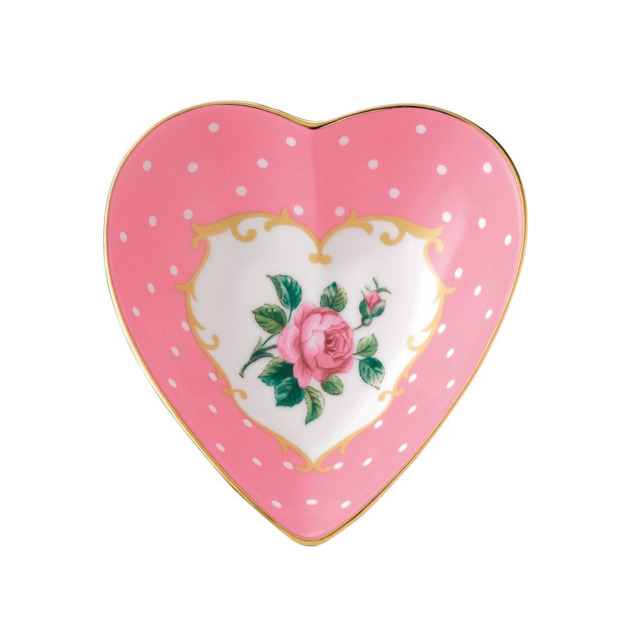 Royal Albert Cheeky Pink Heart Tray