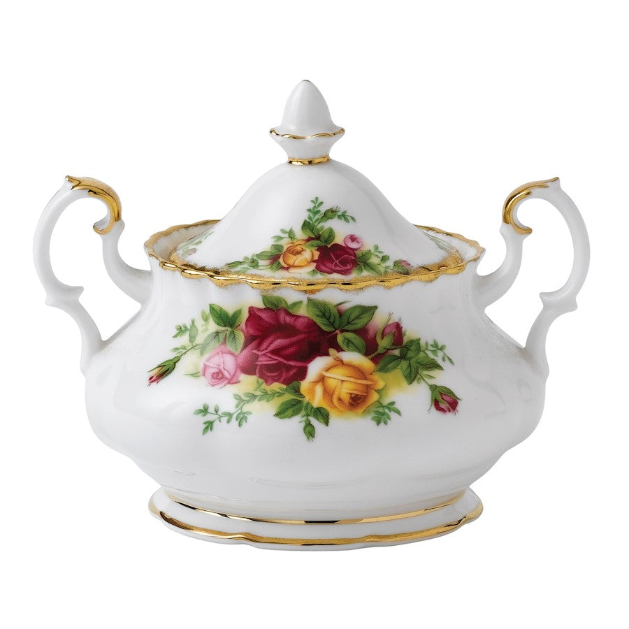 Royal Albert Old Country Roses Covered Sugar Bowl