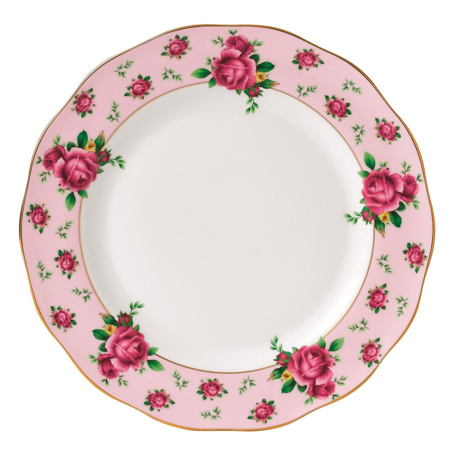 Royal Albert New Country Roses Pink Vintage Dinner Plate