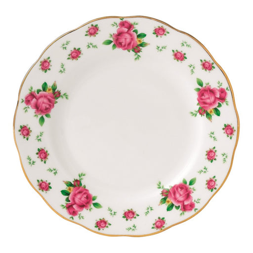 Royal Albert New Country Roses White Vintage Bread and Butter Plate