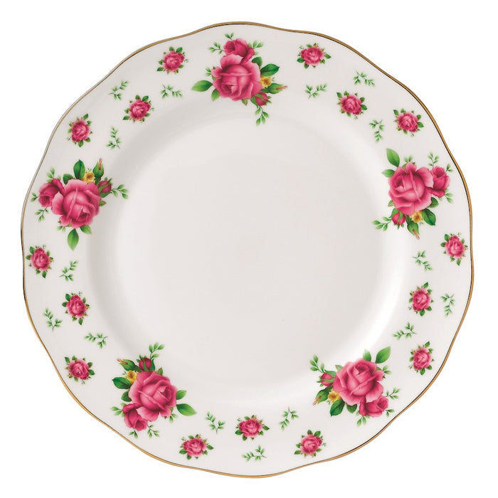 Royal Albert New Country Roses White Vintage Dinner Plate