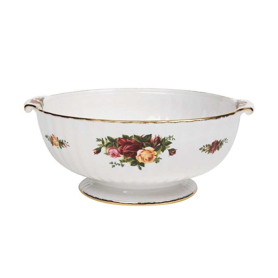 Royal Albert Old Country Roses Fluted Serving Bowl