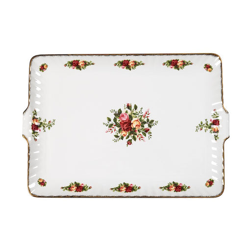 Royal Albert Old Country Roses Fluted Serving Tray