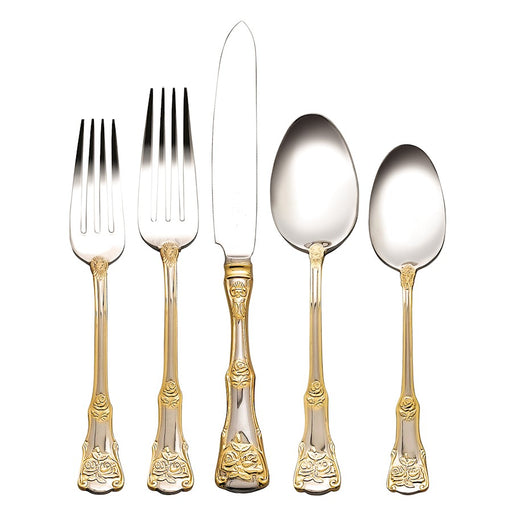Royal Albert Old Country Roses 20-Piece Flatware Set