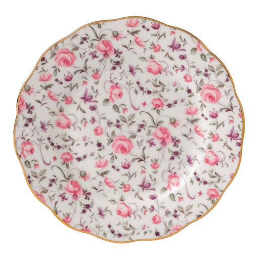 Royal Albert Rose Confetti Vintage Bread and Butter Plate