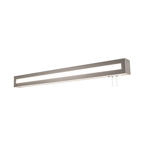 "AFX Lighting Hayes 37"" Overbed Light Fixture, Satin Nickel - HAYB3740L30ENSN"
