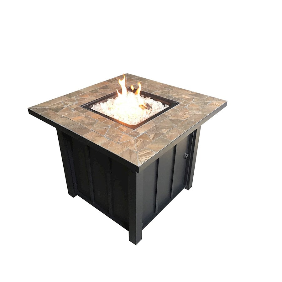 AZ Patio Heaters Square Tile Top Fire Pit - AFP-STT