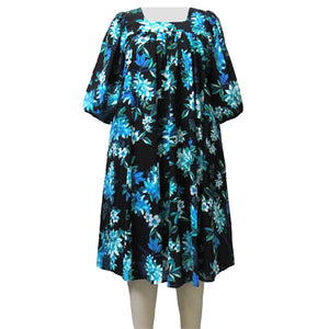 Aqua Botanic Float Dress Women's Plus Size Dress