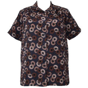 Short Sleeve Tunic with Shirring