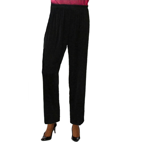 Black Slinky Pant Women's Plus Size Pant