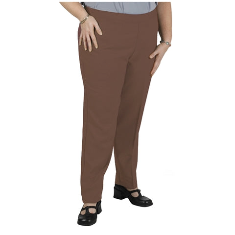 Chestnut Bend Over® Pull-On Pants