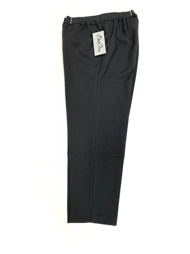 Dark Charcoal Bend Over Pull-On Pants