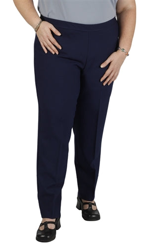 Navy Bend Over Pull-On Pants