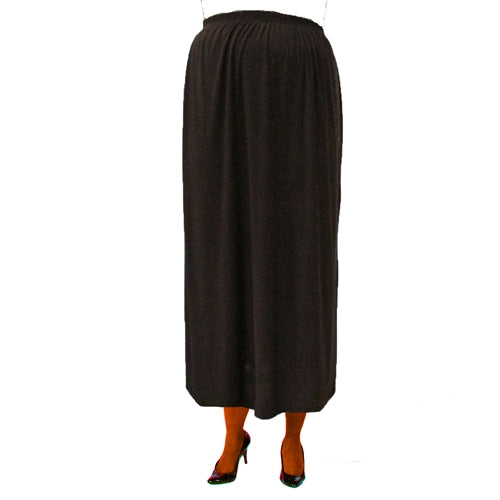 Chocolate Brown Maxi Skirt Plus Size Skirt