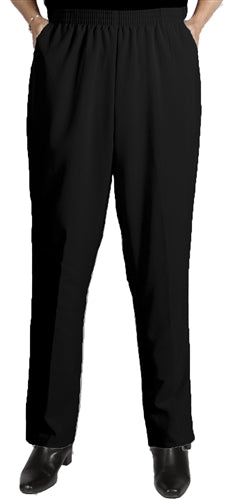 Black Viviana Shaped Fit Pant